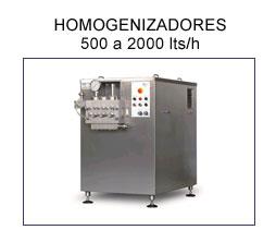 homogeneizadores